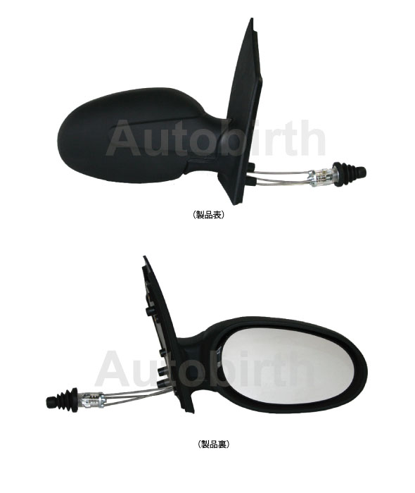 ベンツ Smart スマート 左ハンドル<br> ドアミラー<br>右側 【新品】